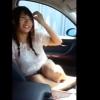 【スマホ撮影】ドライブデートでおめかしした彼女が可愛くて我慢できなくなってお口で抜いてもらう【口内射精】