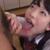 【姫川ゆうな】彼女の妹に台所フェラでしてもらってたらバレそうになって自室のベッドでたっぷりじゅぽじゅぽ【舌上射精】