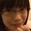 【秋月めい】眼鏡美少女がトイレで射精のお手伝い♪手だけじゃ我慢できなくてお口でしごいてもらって口内射精