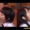 【佳苗るか&阿部乃みく】二人はクラスの性処理係!複数のチンポをお口で気持ちよくしてくれる