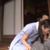【星奈あい】縁側美少女のお口に腰を小刻みに震わせてどくどく精液を送り込む