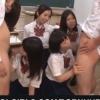 好奇心旺盛な年頃JKたちがクラスメートのチンポでフェラチオ授業【乱交フェラチオ】