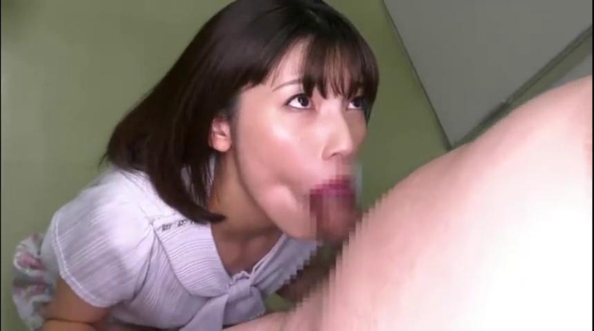【森沢かな】えっちな美女がお口の中に濃~い精子を出されてぜんぶごっくん【口内射精】