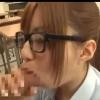 【成瀬心美】黒縁メガネJKに学校の色んなところでフェラチオ♡【口内射精】
