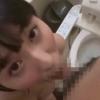 【飛鳥りん】トイレでメイドさんにち○ぽをお口できれいにしてもらうついでにザーメン2回も抜いてもらうw【2連続フェラ射精】