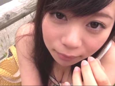 【浅倉領花】24時間ムラムラしたらいつでもヌいてくれる女の子に公園でちんぽしゃぶり♡【舌上射精】