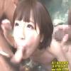 【佐倉絆】露天風呂で男たちのちんぽも熱くするフェラチオ混浴会【口内射精】