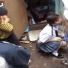 【成宮ルリ】ぬちぬちフェラチオでおっさん4人のザーメンをお顔と口で受け止める少女