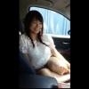 【個人撮影】援交JDに昼間の車内でフェラ抜きしてもらっちゃうw【口内射精】