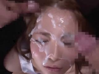 【オムニバス】女優たちが大量のちんぽに囲まれて一気にぶっかけ!感謝のお掃除フェラも忘れないw