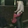 路上で彼氏のちんぽをじゅぽじゅぽ♡我慢できずに彼女のお口をオナホにして腰振っちゃうw