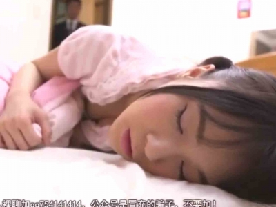 寝ている妹のパンツの上から亀頭を擦りつけて起こした妹にじゅぽじゅぽノーハンドフェラさせちゃうお兄ちゃんw【口内射精】