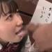 【大島美緒】「好きにしていいよ♡」張り紙されたJKが文字通り男子に好き放題されてお口便器にされちゃうw