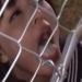 【青山未来】囚われたJKの食料はフェンスごしの突っ込まれたちんぽから供給される精子【ごっくん】