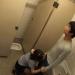 【深田えいみ】彼女にトイレでラブラブ手つなぎフェラチオでノーハンドで腰を振ってお口に射精しちゃうw