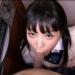 タレ目JKが台所で秘密のじゅぽフェラでチンポしごいてくれる【口内射精】