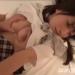 【大沢美加】ホテルで援交美少女のおっぱいを鷲掴みにしながら正常位セックス【パイ射】