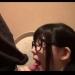 トイレでエッチなバイトをしてる眼鏡援交JKのペロペロフェラチオ♡【顔射】