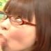 【手コキ射精】眼鏡の素人女子がちゅぽちゅぽシコシコ♡恥ずかしながらも手コキフェラ抜き